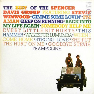 LP, Spencer Davis Group, The Best Of The Spencer Davis Group Featuring Stevie Winwood