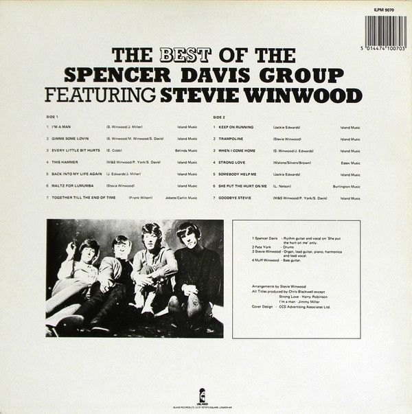 Spencer Davis Group, The Best Of The Spencer Davis Group Featuring Stevie Winwood