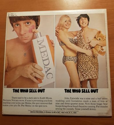 Who, Sell Out Decca DL 74950