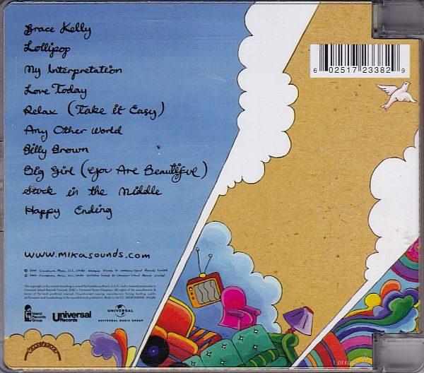 CD, Mika, Life in a Cartoon Motion 2006