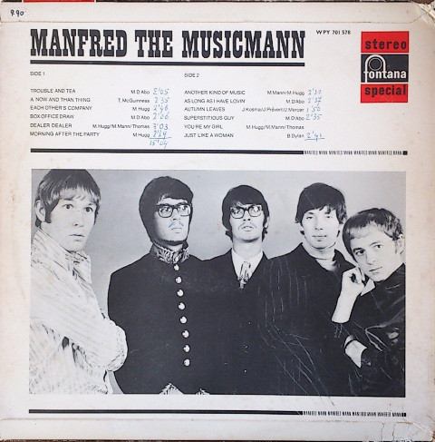 Manfred Mann, Manfred The Musicmann