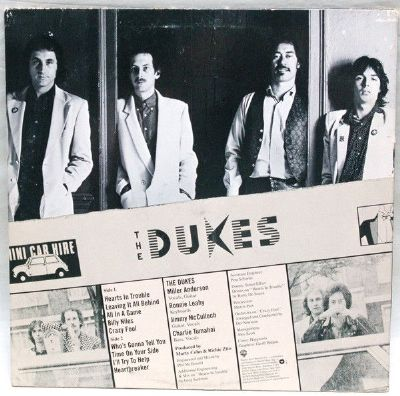 Dukes, Do Warner Bros. Records ‎- BSK 3376