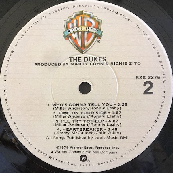 LP, Dukes, Do 1979
