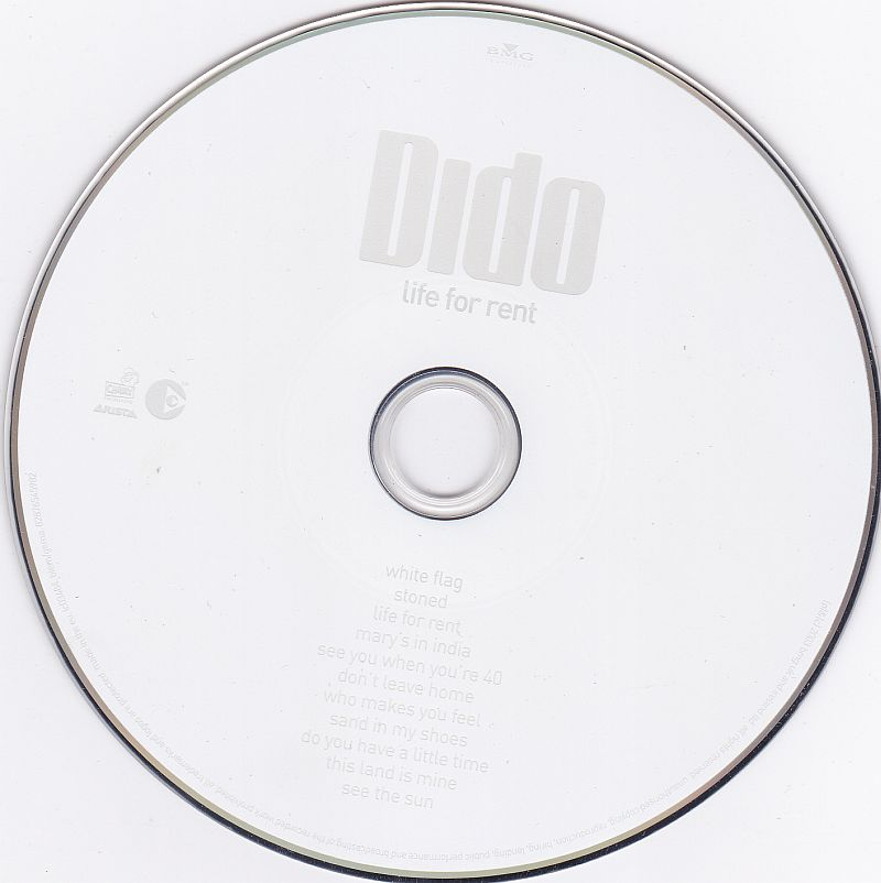 CD, Dido, Life for Rent 2003