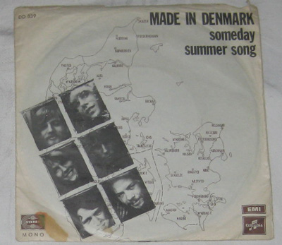 Made In Denmark Someday Columbia DD 839
