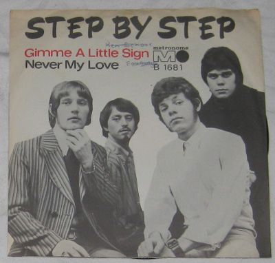 7, Step By Step, Gimme Little Sign