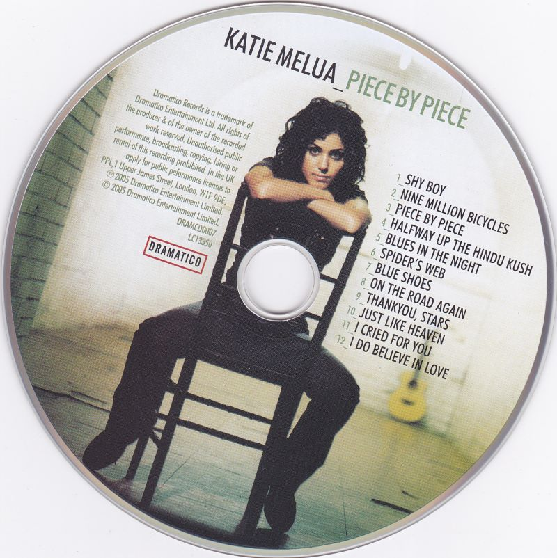 CD, Katie Melua, Piece by Piece 2005