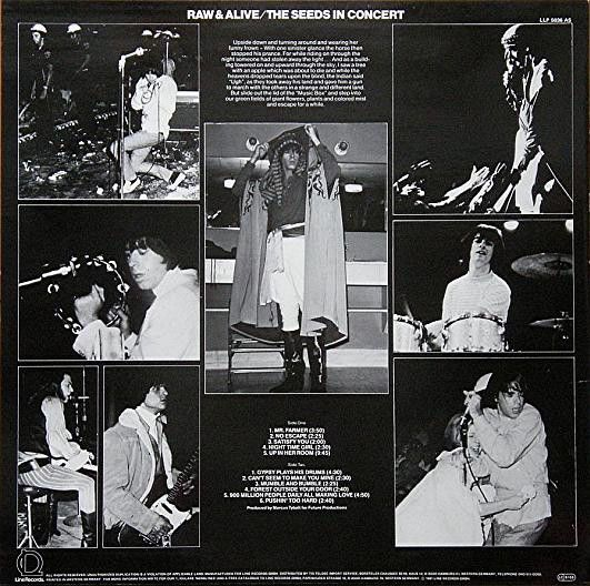 Seeds, Raw & Alive / The Seeds In Concert