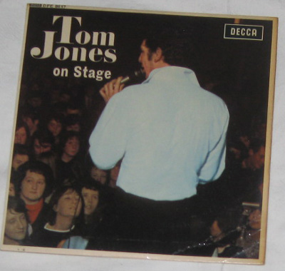 EP, Tom Jones, Tom Jones On Stage1