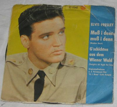 7, Elvis Presley, Wooden Heart