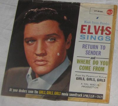 Elvis Presley Return To Sender RCA 47-8100