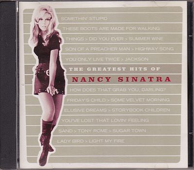 Nancy Sinatra, The Greatest Hits of Nancy Sinatra Traditional Line TL 1395