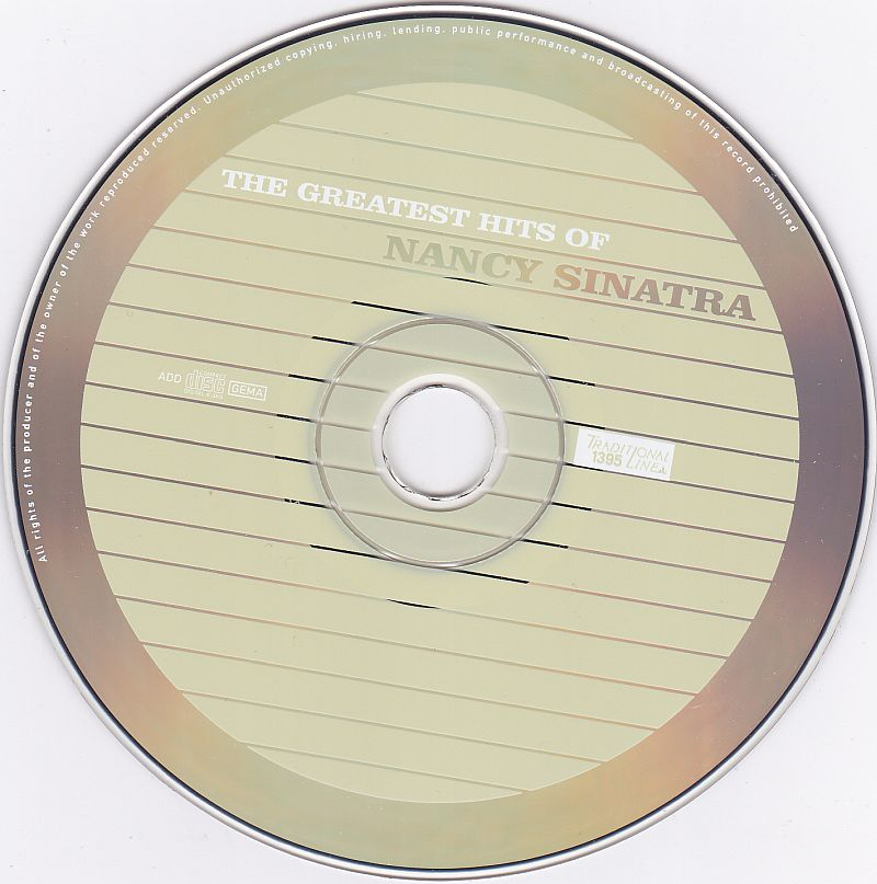 CD, Nancy Sinatra, The Greatest Hits of Nancy Sinatra 2002