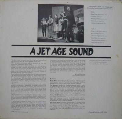 Jefferson Airplane, Bless Its Pointed Little Head / Takes Off RCA - Victor - SR 3012