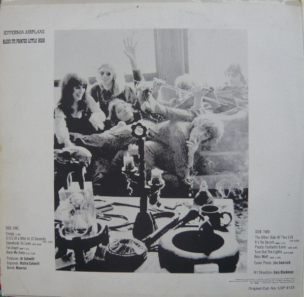Jefferson Airplane, Bless Its Pointed Little Head / Takes Off