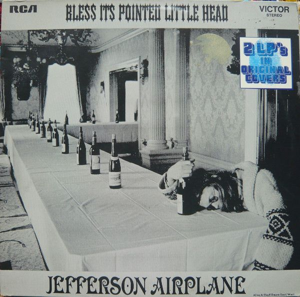 LP, Jefferson Airplane, Bless Its Pointed Little Head / Takes Off 1973