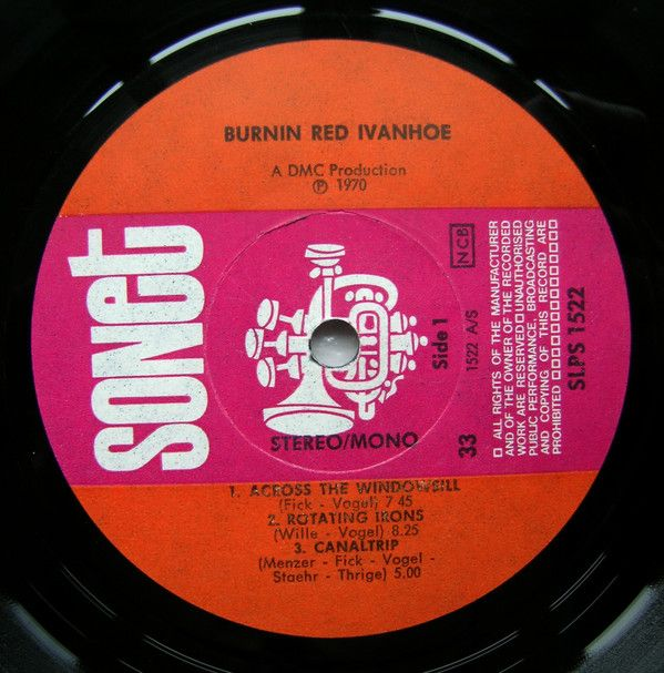 Burnin Red Ivanhoe, Do