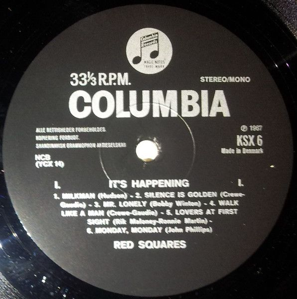 LP, Red Squares, It's Happening 1967