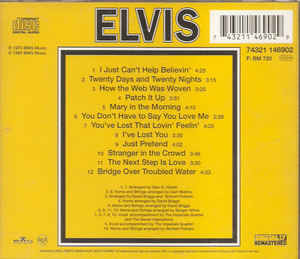 elvis presley, Elvis - That's The Way It Is Europe