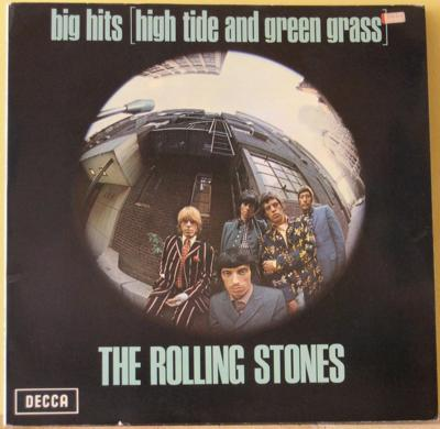 LP, Rolling Stones, Big hits (High tide and green grass)