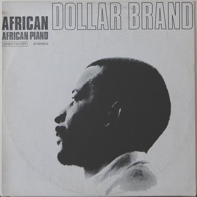 LP, Dollar Brand, African Piano