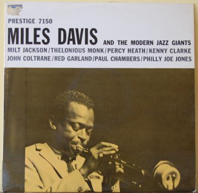 LP, Miles Davis, Miles Davis and the modern jazz giants